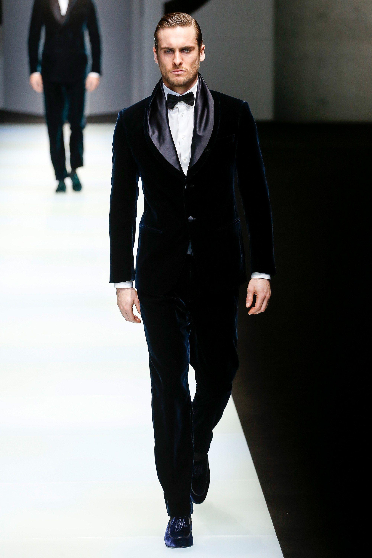 Giorgio Armani Fall 2018 Menswear Collection - Vogue
