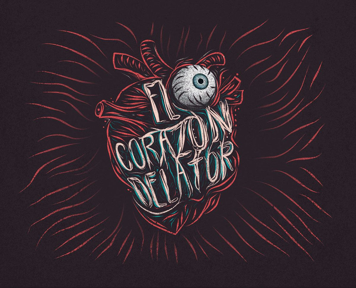 Poemas Corazon Delator Edgar Allan Poe Frases El Corazon Delator On Behance El Corazon Delator Corazones