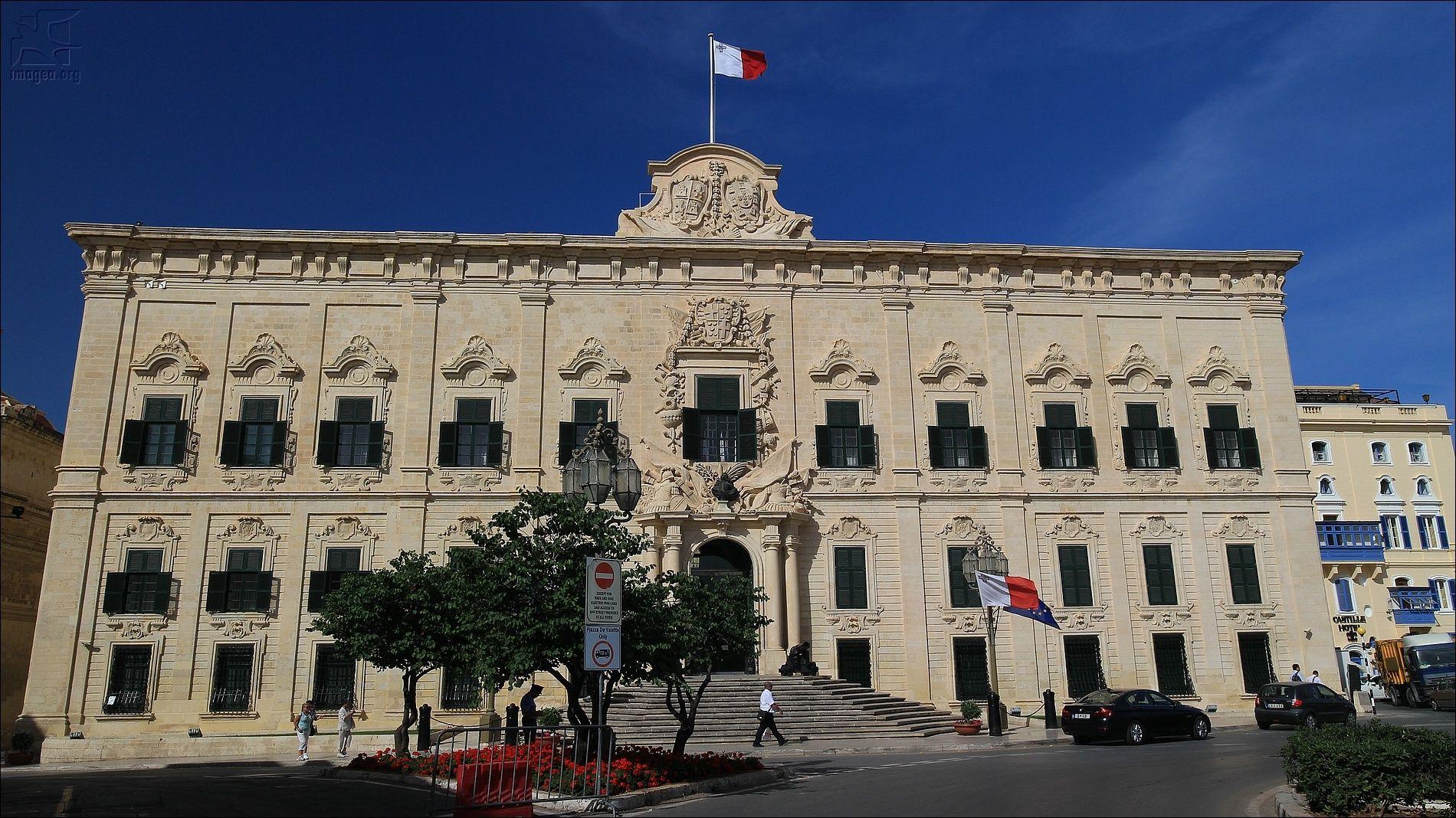 Auberge De Castille - Valletta Malta Island
