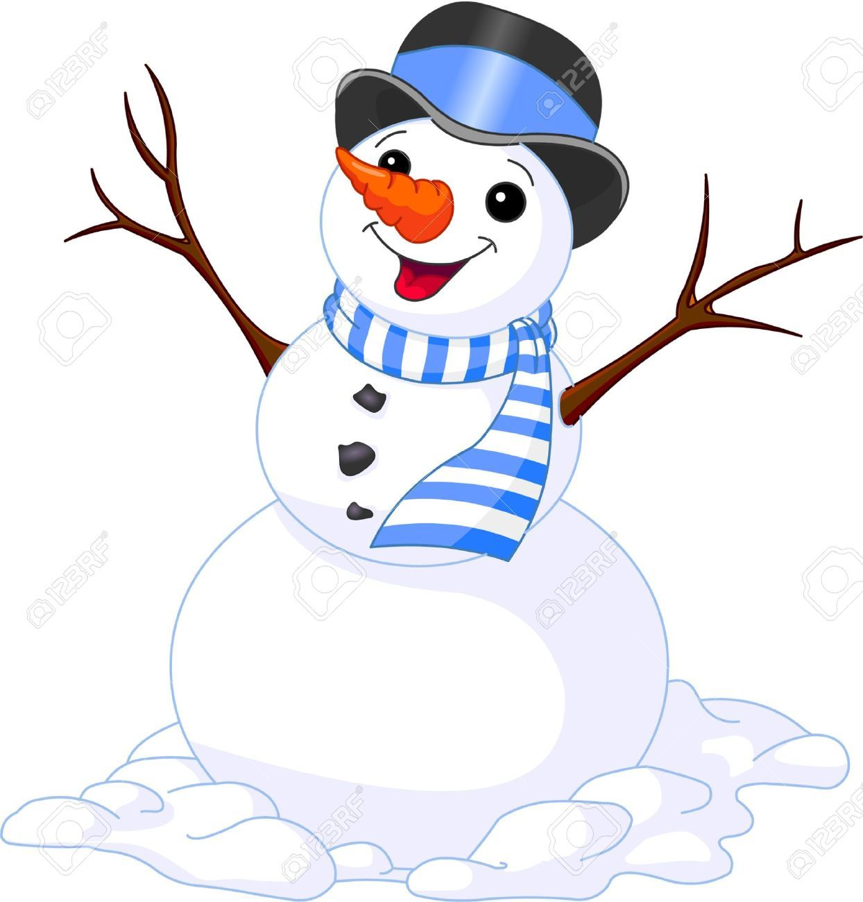 Snowman Nose Stock Illustrations Cliparts And Royalty Free Snowman Nose Vectors Snowman Images Christmas Illustration Snowman