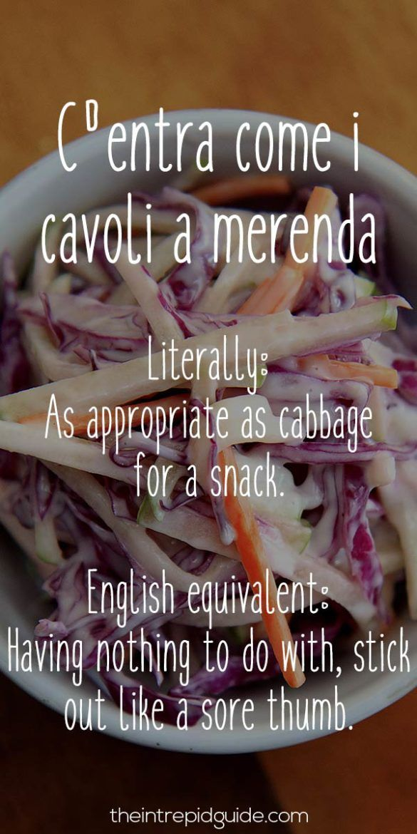 Funniest Italian Sayings 26 FoodRelated Insults You Won
