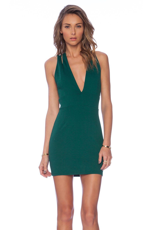 NBD Late Night Dress in Emerald | REVOLVE | Dresses | Pinterest ...