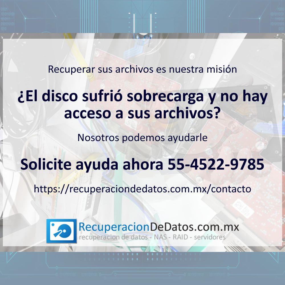 Contacto Recuperación de datos