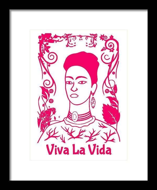 Frida Kahlo - Viva La Vida - Framed Print | Pinterest | Frida kahlo ...