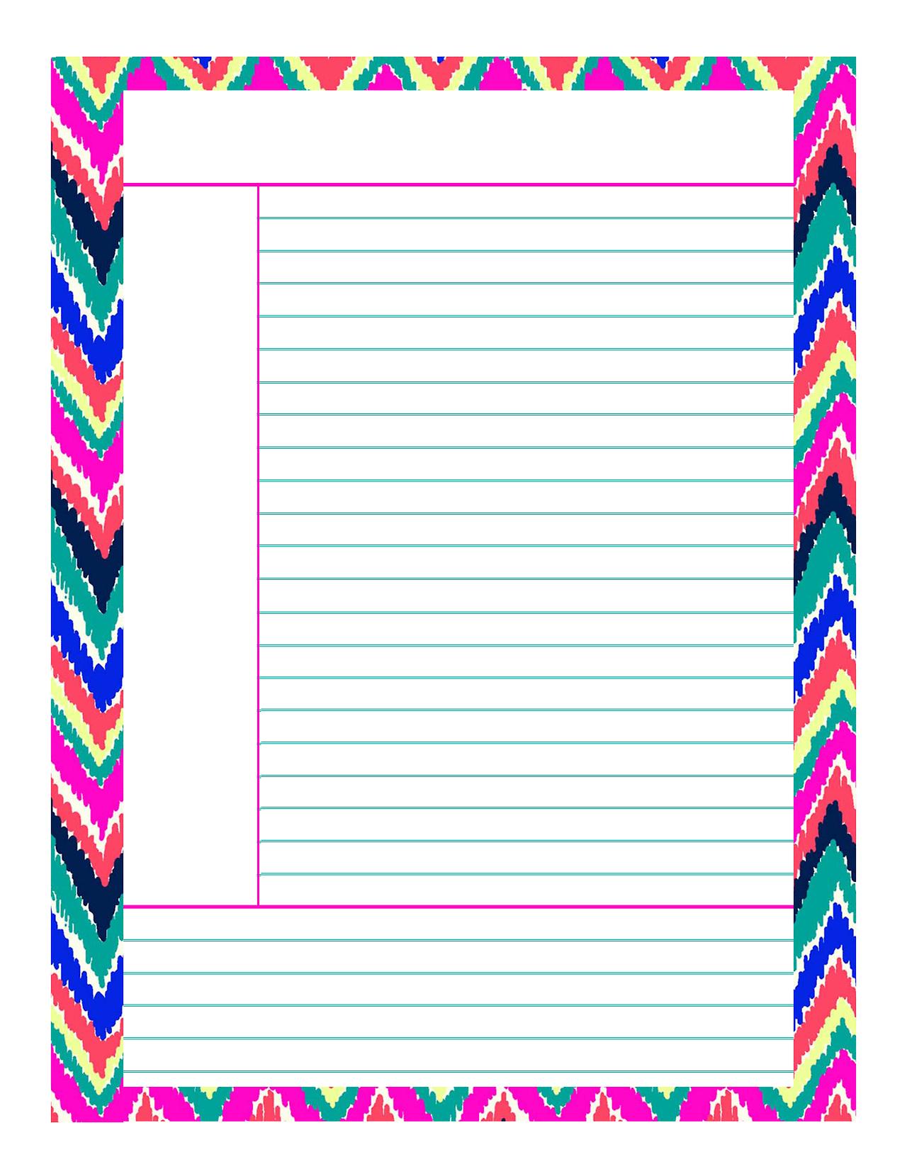 Free Printable Notes