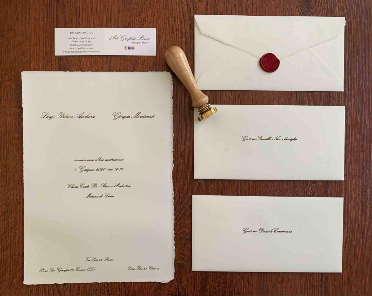 Partecipazioni Di Matrimonio In Carta Amalfi Nel 2020 Porta Segnaposto Partecipazioni Nozze Matrimonio Carta
