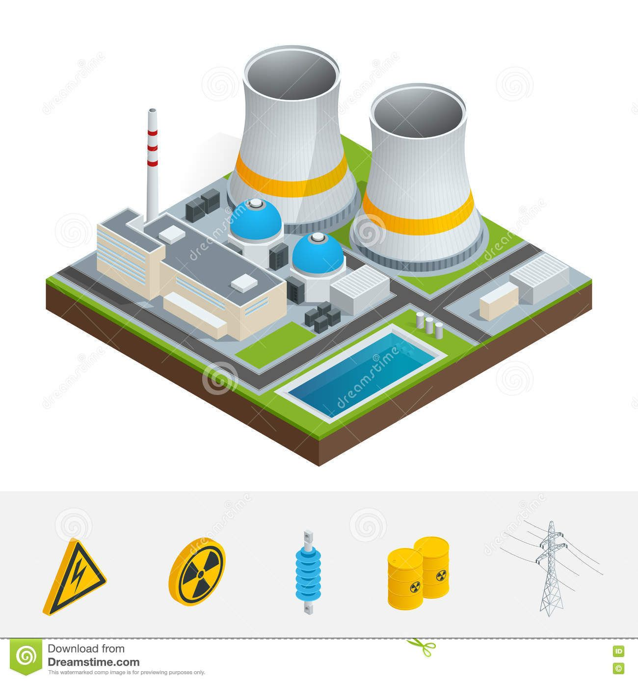 Image Result For Power Station Isometric