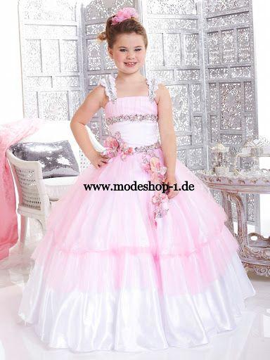 Mädchen Ballkleid Freesie www.modeshop-1.de | Kinder Mode ...
