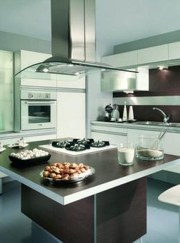 ilot central teissa de particulier particulier pap cuisine diy pinterest ilot. Black Bedroom Furniture Sets. Home Design Ideas