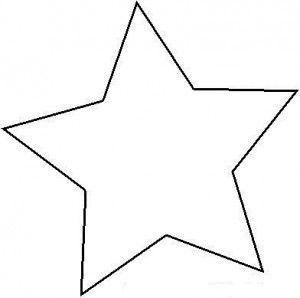 Plantilla estrella felt christmas decorations - Plantilla estrella navidad ...