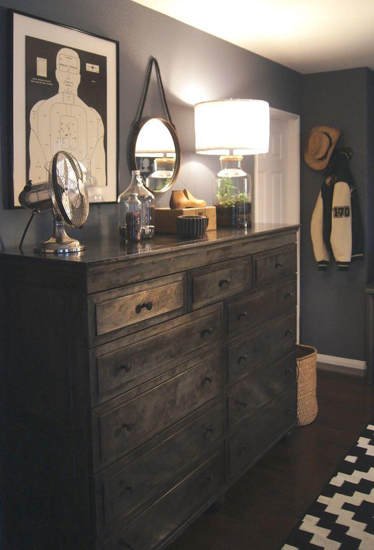 Master Bedroom Restoration Hardware Dressers