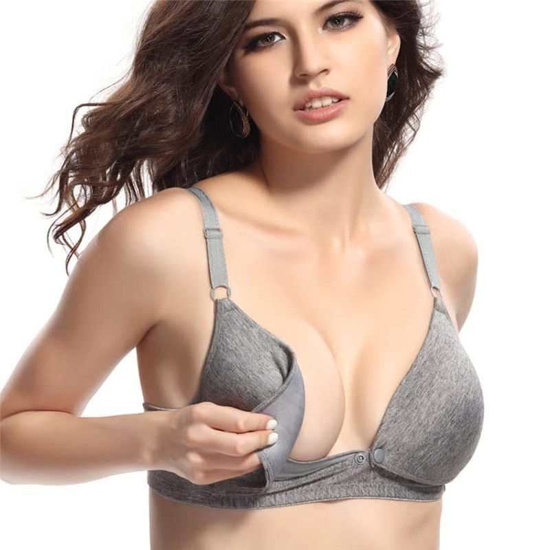 0afa3a9ff2 Women breastfeeding bra Sleep Nursing Feeding Pregnant Breastfeeding Bra  Size 34