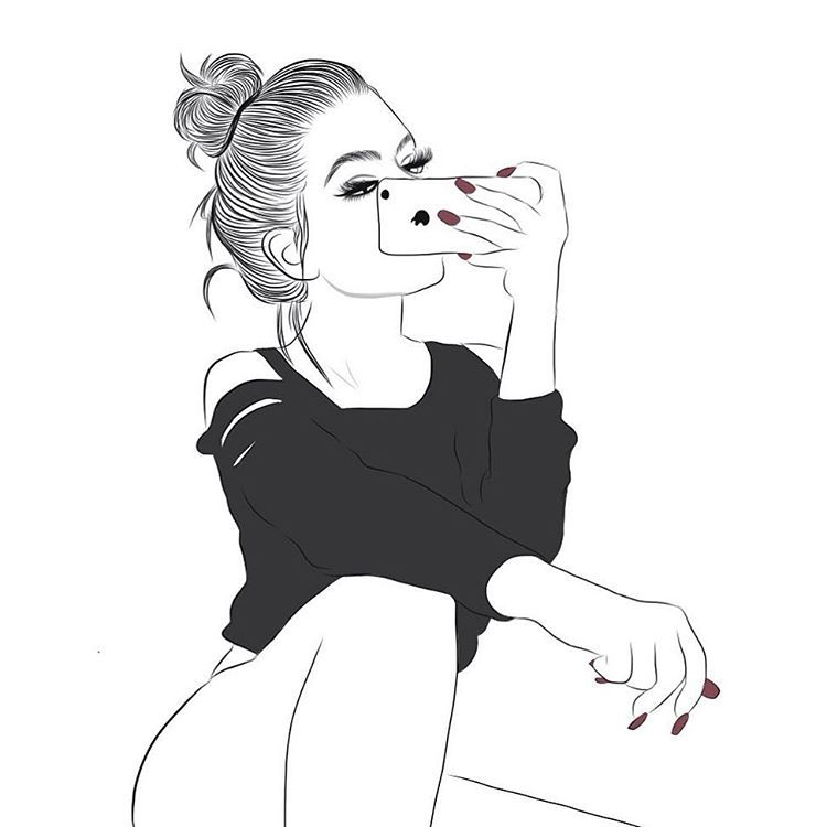 Explore Hipster Girl Drawing, Girl Drawings and more!