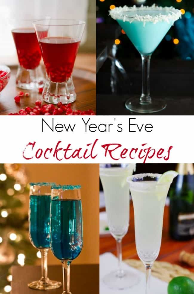 New Year's Eve Cocktail Recipes | Comeback Momma