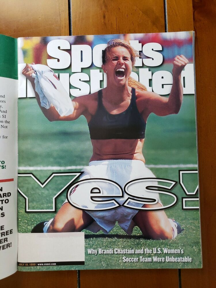 Sports Illustrated July 19, 1999 Famous Brandi Chastain