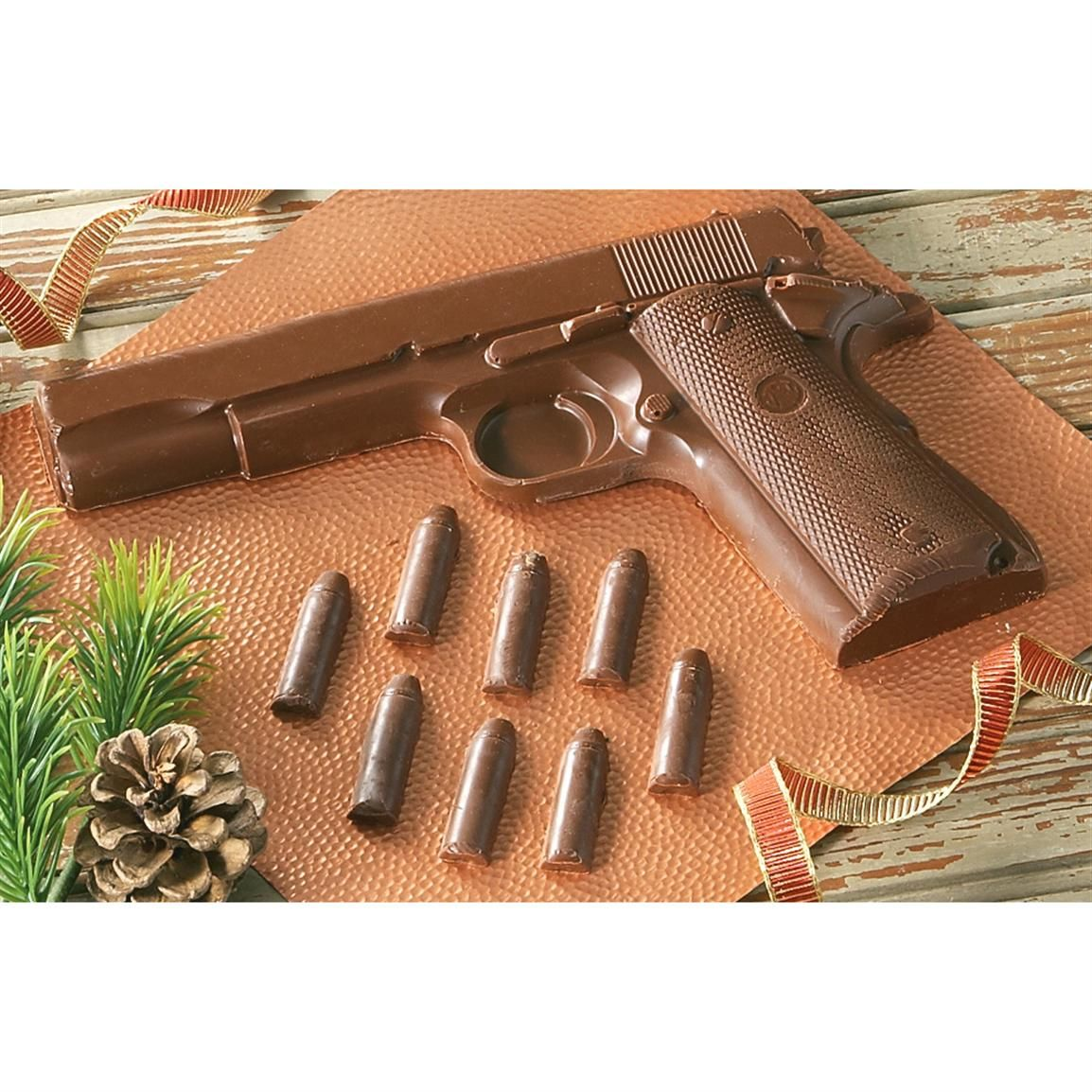 Mmm... Chocolate Colt(R) 1911 with Ammo, Gift Boxed $19.99 ...