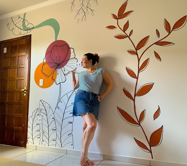 33 Ideas De Dibujos De Pared Disenos De Unas Pinturas De Pared Decoración De Unas