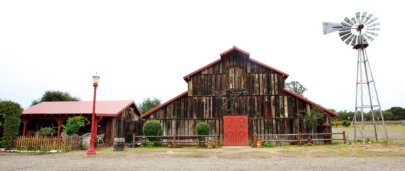 Southern California Barn Wedding Venues
