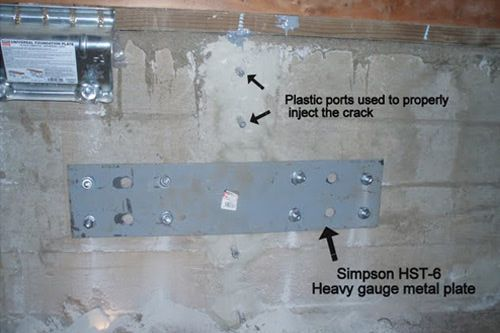 foundation crack repair & foundation crack repair | Foundation | Pinterest | Foundation and ...