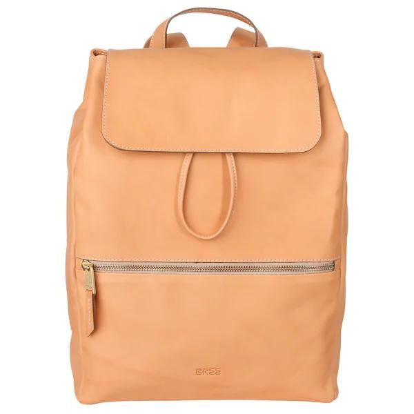 Bree Rucksack Stockholm 53 37 Cm Apricot Taschen Bags Backpack Rucksacke Style Fashion Mode Rucksack Leder Taschen