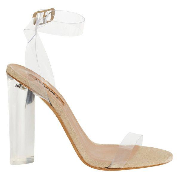 70f5799f57c52 Yeezy SEASON 2 Lucite Sandal Heels