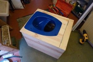 Simple Compost Toilet Diy With Urine Diverter Home