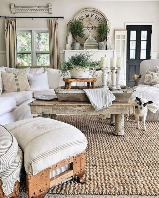 Industrial Farmhouse Living Room: +28 Secrets To Home Decor Ideas Living Room Rustic