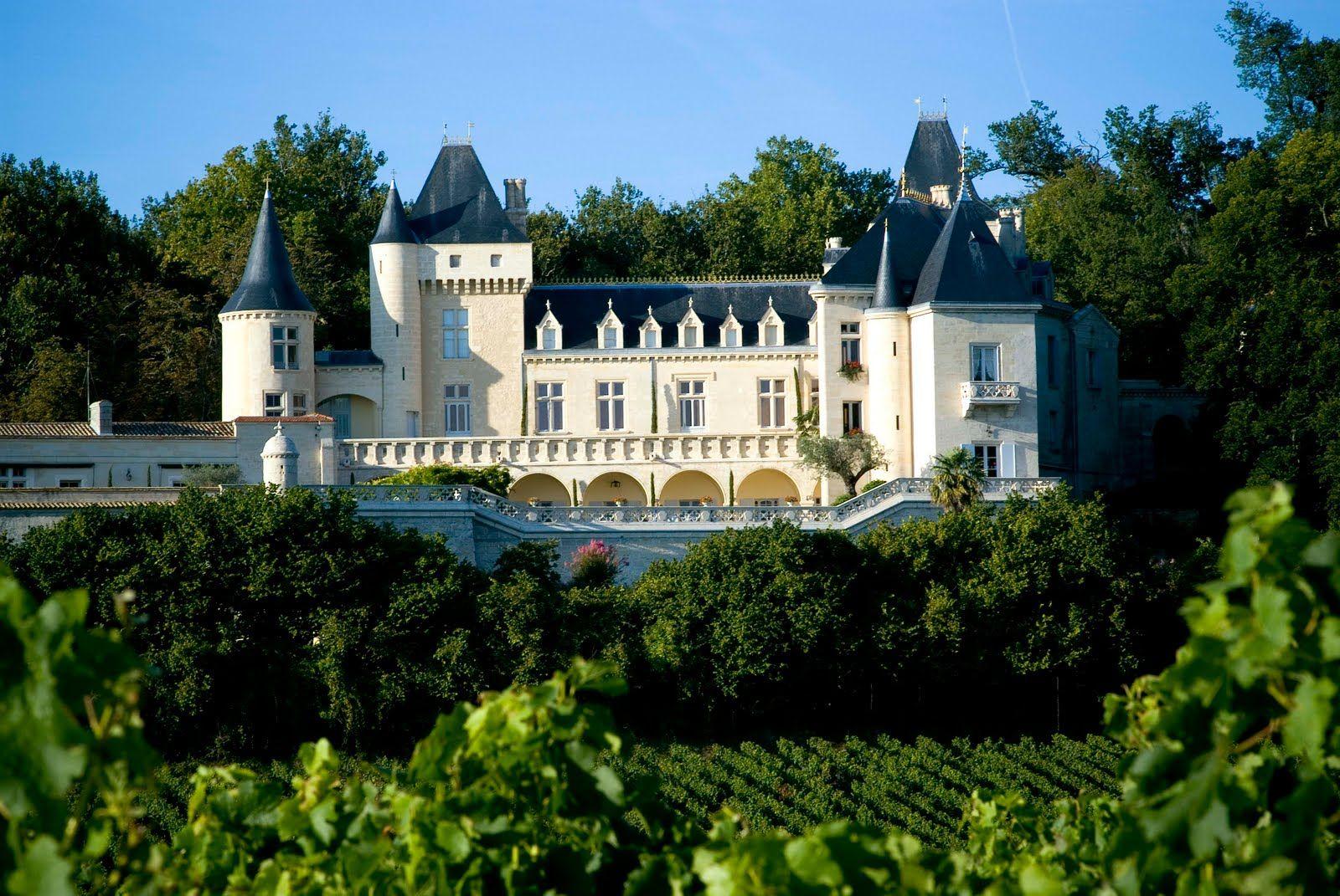 Chateau de la Riviere, Fronsac (Burdeos) Francia
