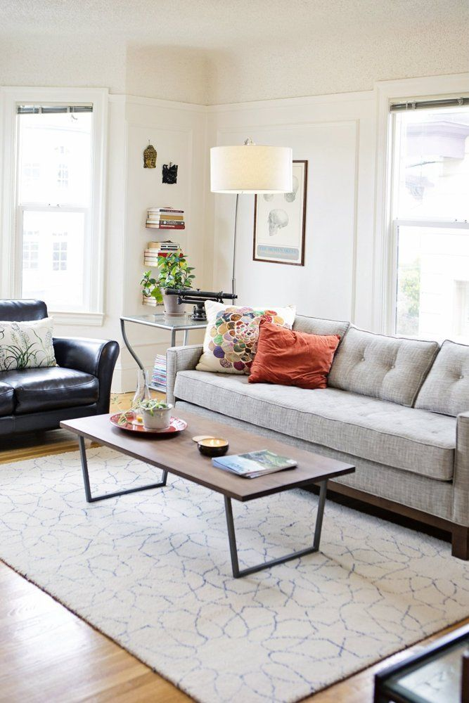 Carly Scott S Colorful Collected Apartment Home Living Room