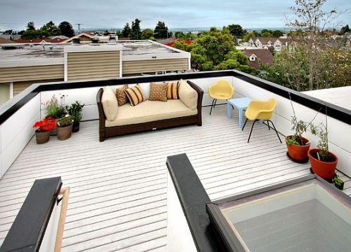Rumah Minimalis 2 Lantai Serba Guna Dengan Rooftop Halaman Belakang Patio Rumah