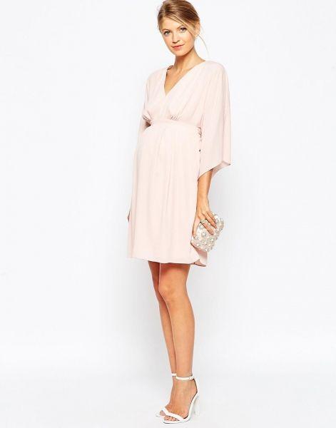 Imagenes de vestidos cortos de noche para embarazadas