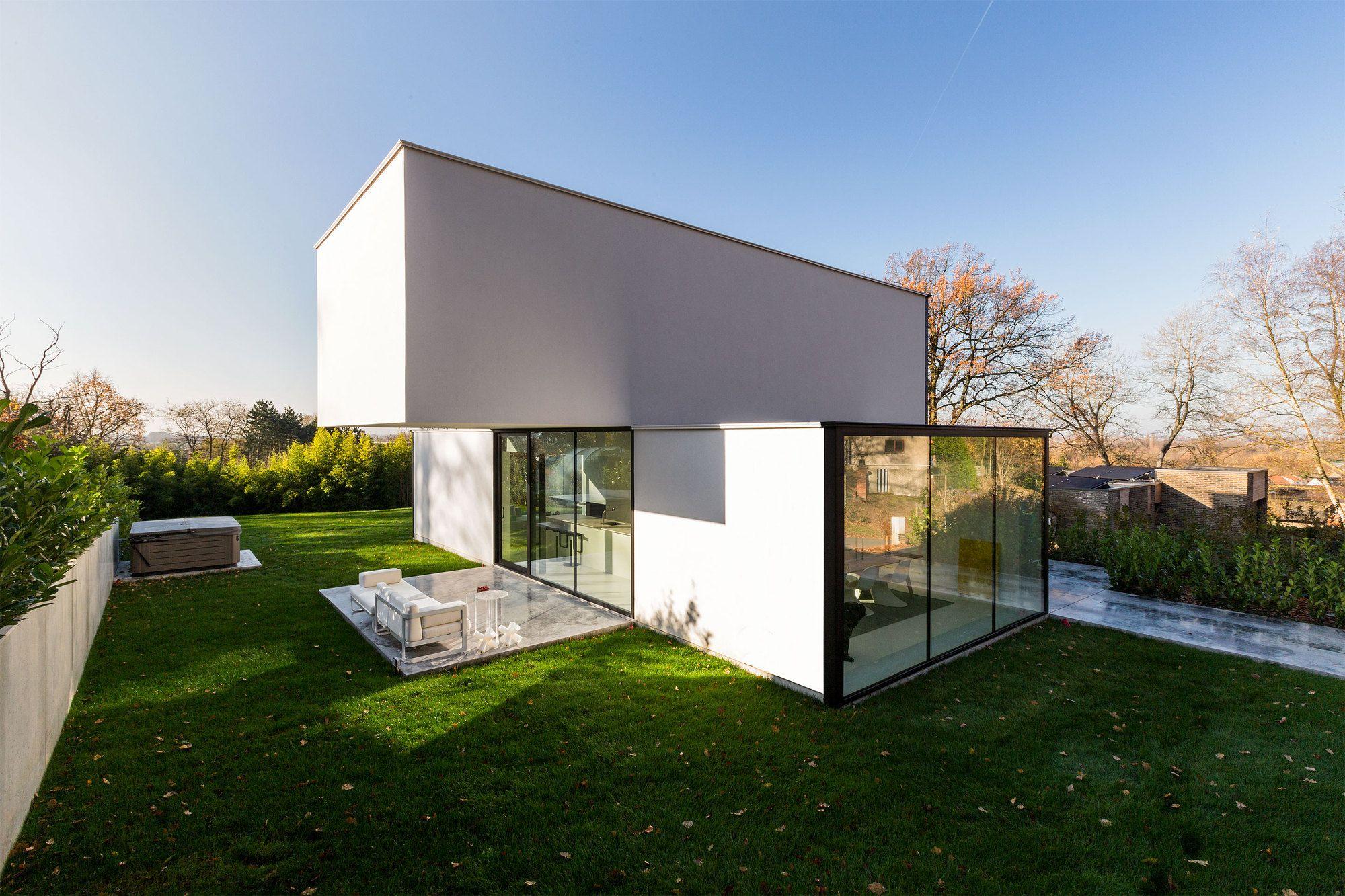 Reco Tom Mahieu Architect Arquitectura Casas Planos De Casas