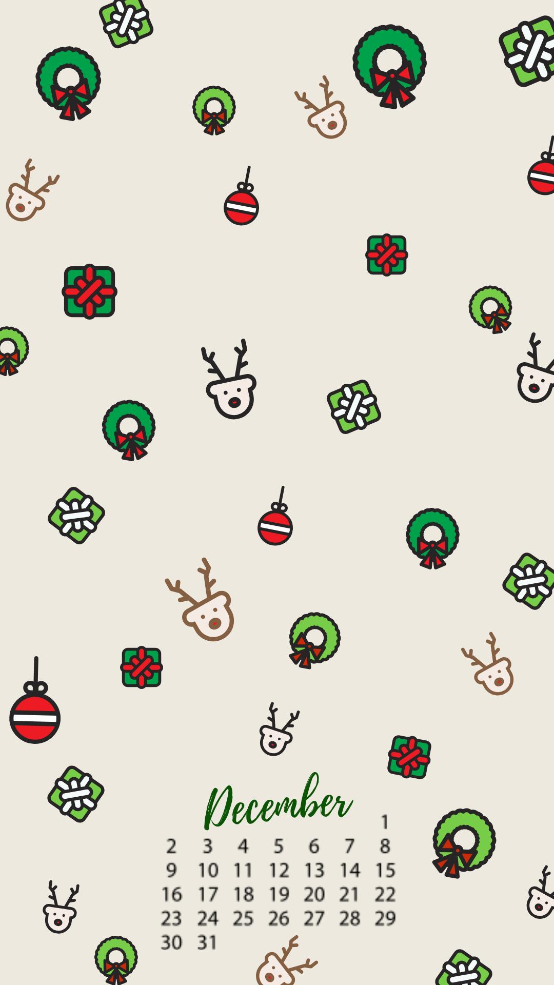 December Christmas Iphone Background Calendar Christmas Phone Wallpaper Christmas Background Iphone Snowflake Wallpaper