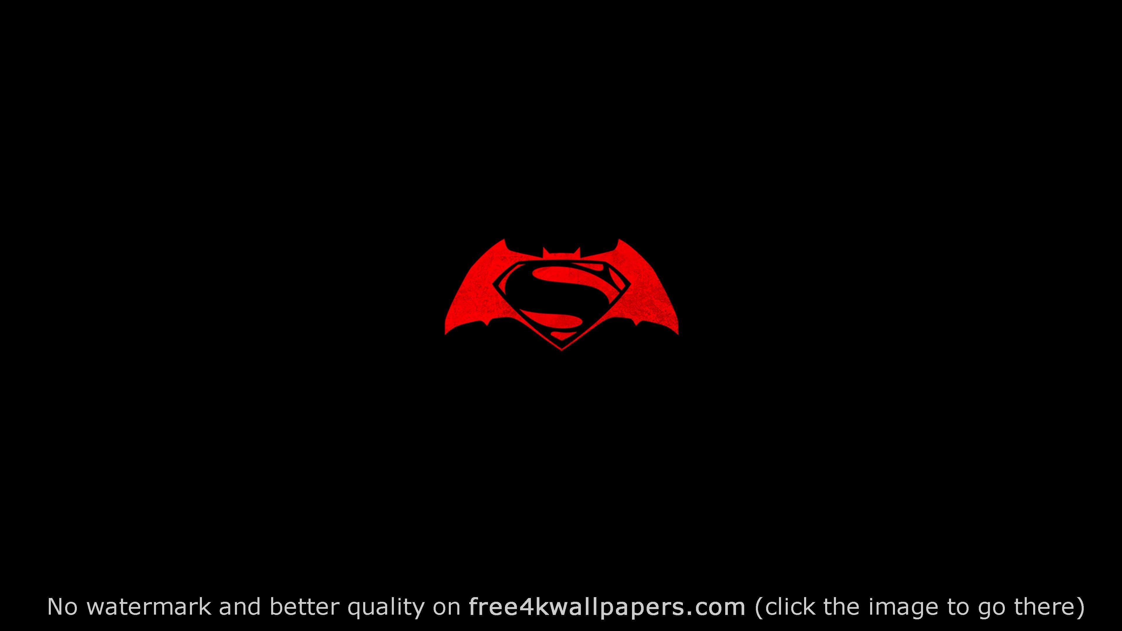 Batman V Superman Logo Wallpaper Superman Logo Batman Batman Logo