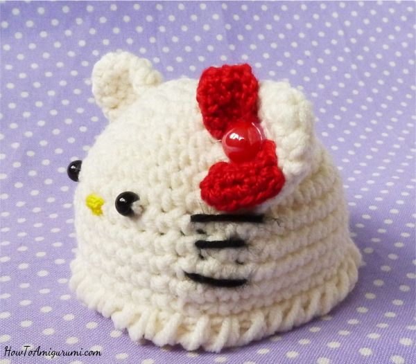 Hello Kitty Hat Crochet Free Pattern Hello Kitty Crochet Crochet