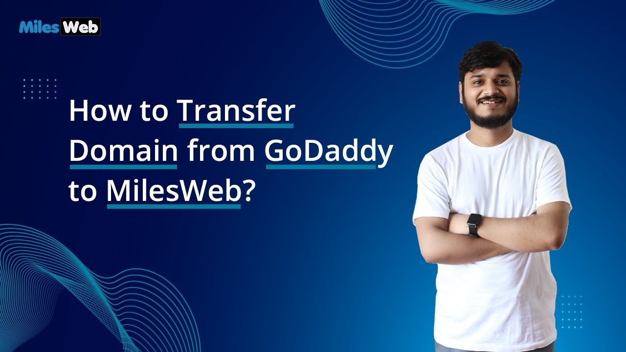 How To Transfer Domain From Godaddy To Milesweb Milesweb In 2020 Youtube Videos Godaddy Domain