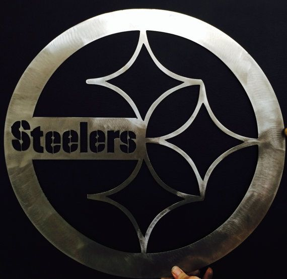 Steelers Wall Art pittsburgh steelers wall art | etsy and wreaths