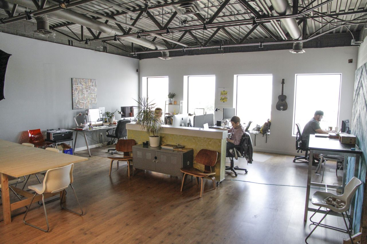 natural light office. let there be natural light office g