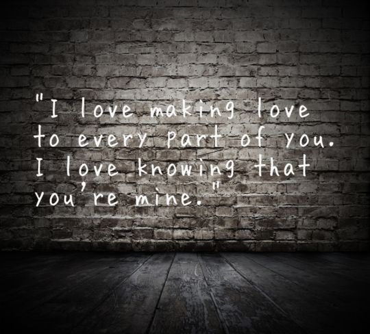 Making Love Quote