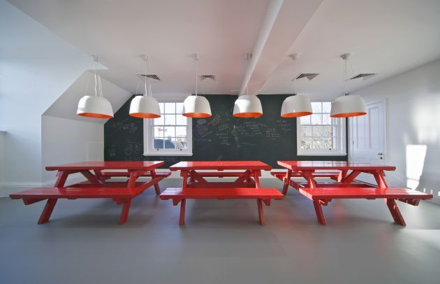 Corporate Interiors Inspiration Inspiration Pinterest Office - Office picnic table