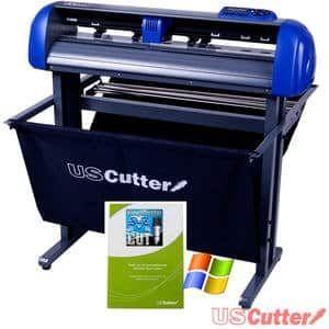 Best Vinyl Cutter Uscutter Titan 28 Inch Vinyl Cutter With Stand Basket And