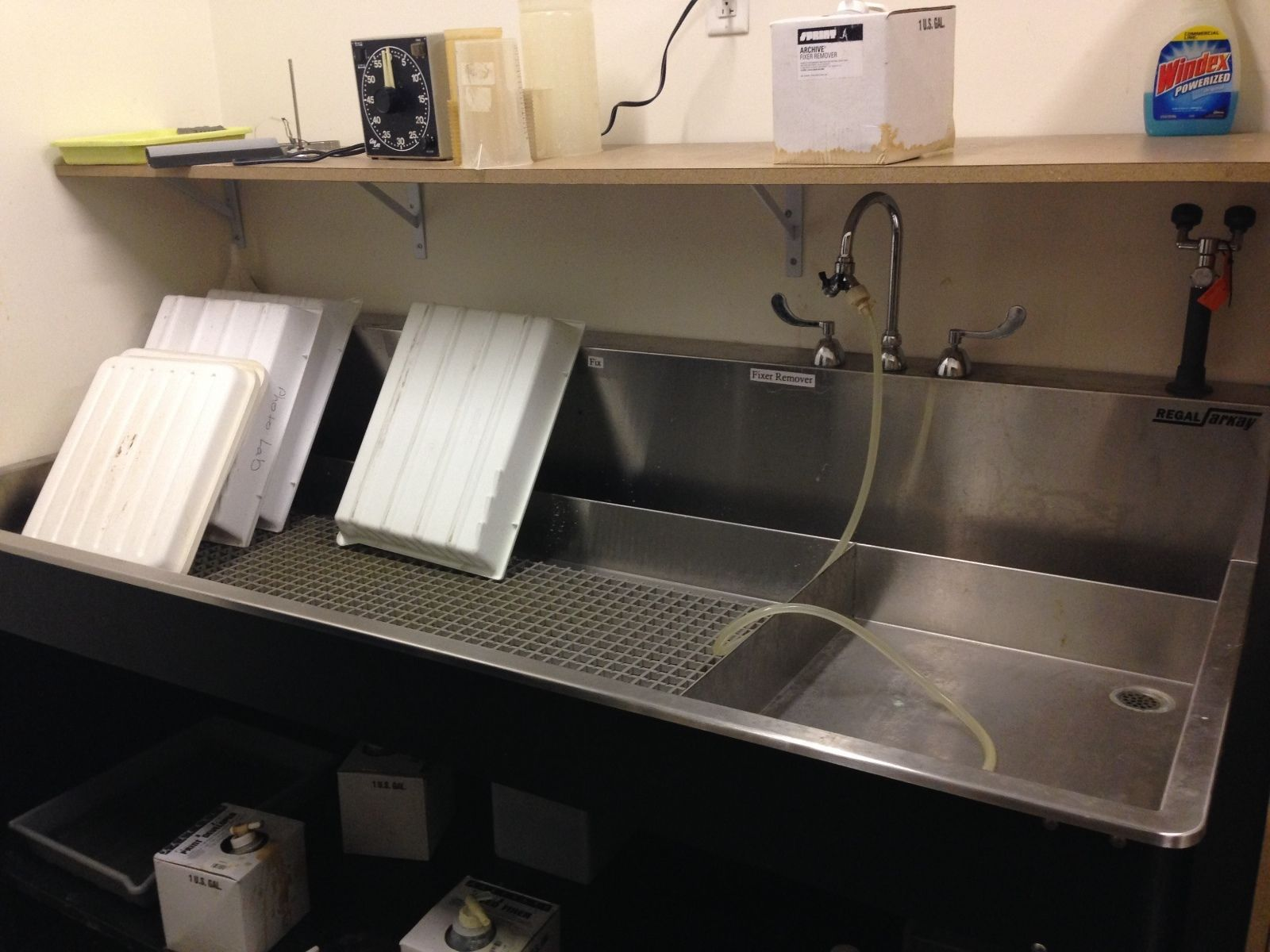 Regal Arkay Stainless Darkroom sink