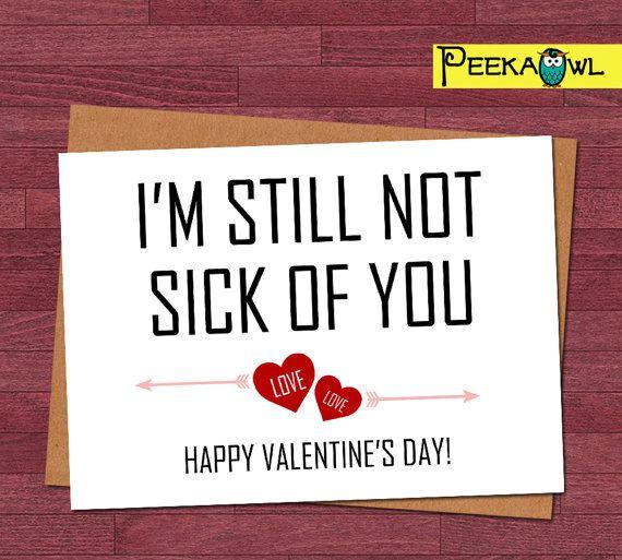 Funny Valentine Card Valentines Day Valentines Day Card Valentine DIGITAL Download Card for Girlfriend Card for Boyfriend