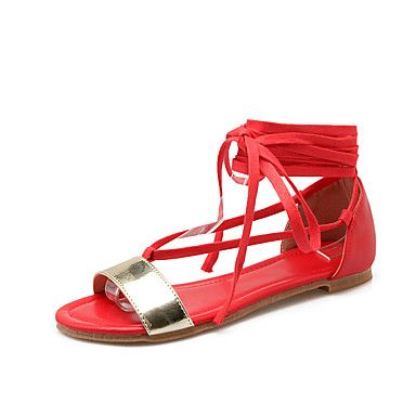 Women's Shoes Low Heel Peep Toe / Gladiator Sandals Outdoor / Dress / Casual  Black /