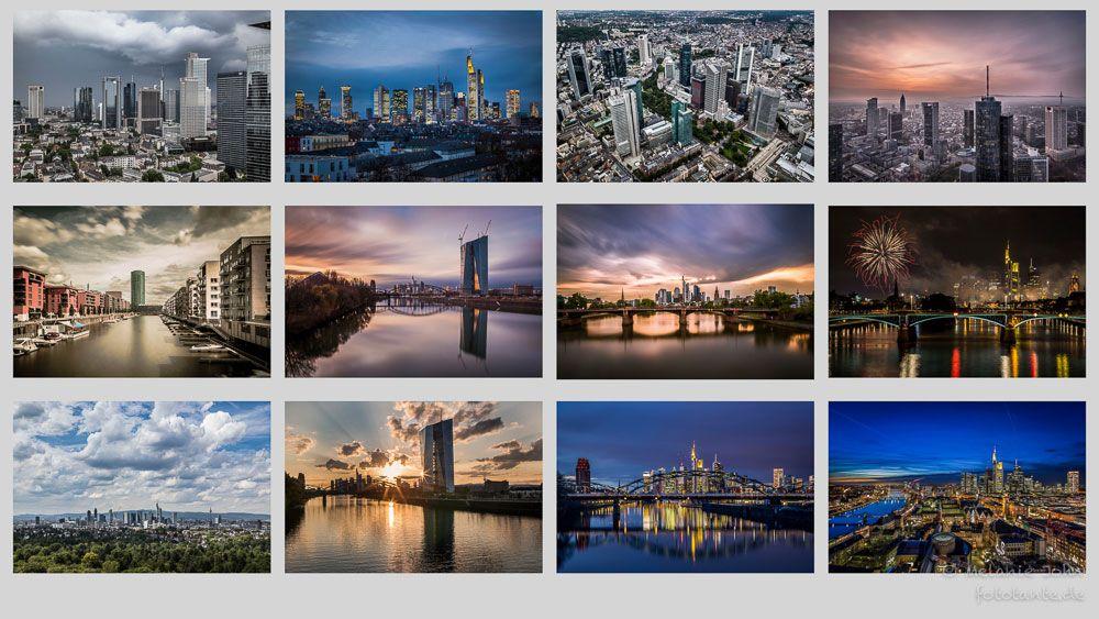 Frankfurt Kalender 2015  Skyline and more