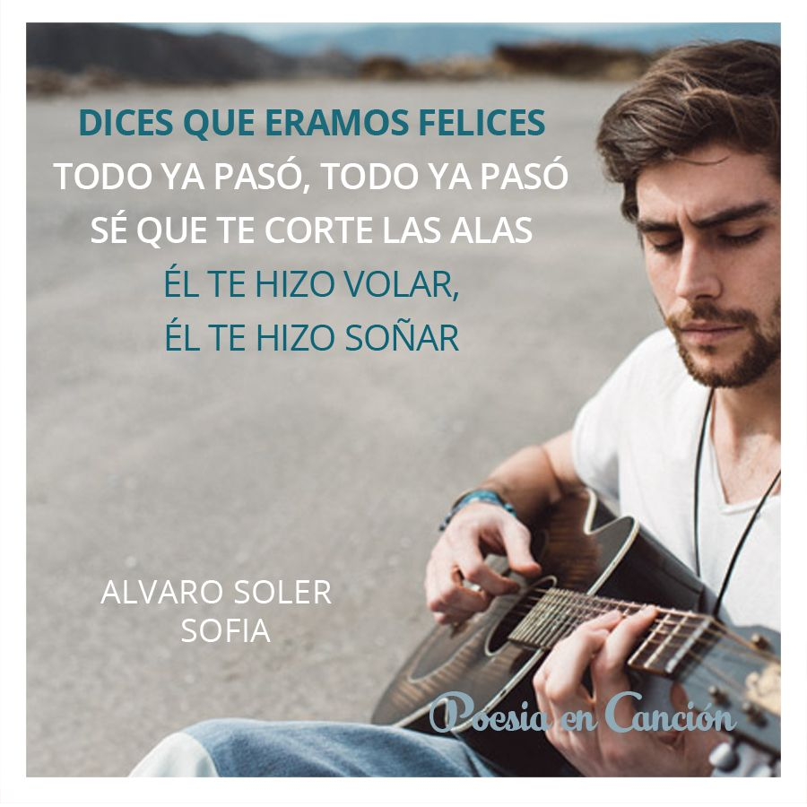 Poesía En Canción Frases Canciones Soler Canciones Frases De Canciones Frases