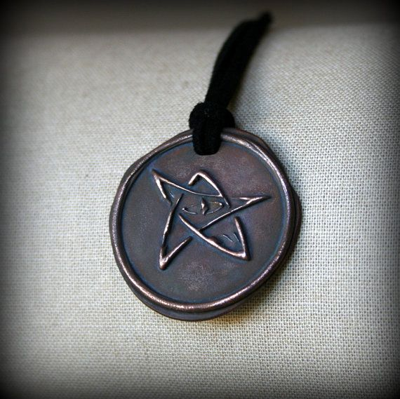 Bronze elder sign protection amulet necklace lovecraft cthulhu bronze elder sign protection amulet necklace lovecraft cthulhu inspired aloadofball Choice Image