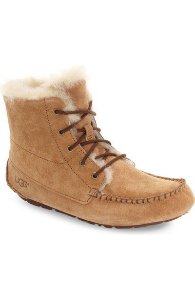 47e167c75b2 UGG 'Chickaree' Bootie (Women). #ugg #shoes #boots | Ugg | Moccasin ...