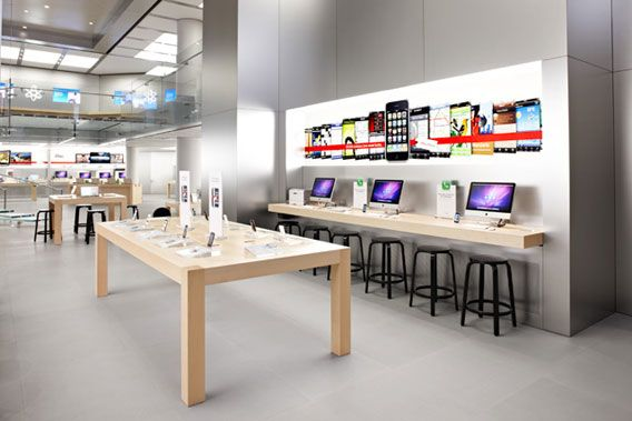 Modern Design Apples New Stores In Paris And York City