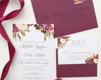 Wedding Invitation Marsala Blush Pink   Hledat Googlem Like And Repin. Thx  Noelito Flow.